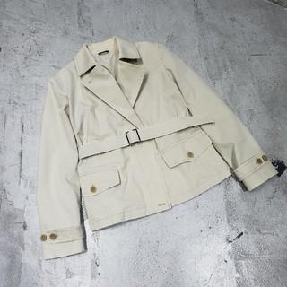 マックスマーラ(Max Mara)のMAX MARA マックスマーラ ショートスプリングコート コート 42(テーラードジャケット)