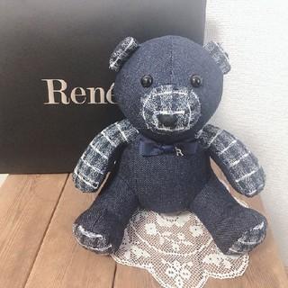 ルネ(René)のRene最新ノベルティ☆テディベア(ノベルティグッズ)