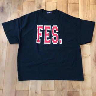 イズネス(is-ness)のis-ness イズネス FES TEE  ブラック(Tシャツ/カットソー(半袖/袖なし))