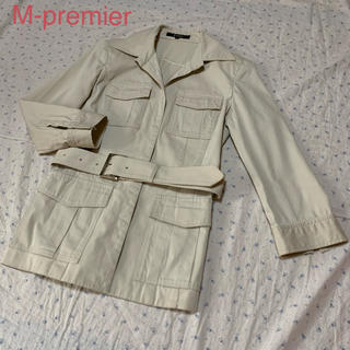 エムプルミエ(M-premier)のエムプルミエ  サファリ スプリングコート ジャケット(スプリングコート)