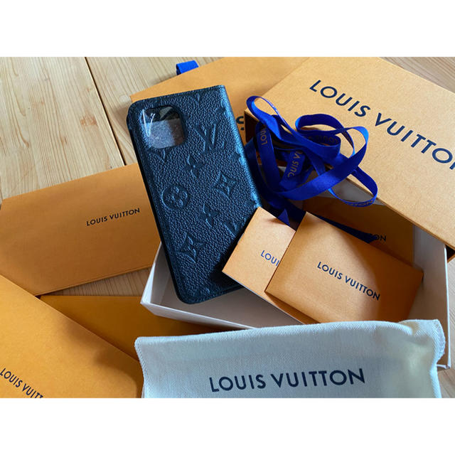 LOUIS VUITTON - 売り切れ続出!プレゼント!LOUIS VUITTON PHONE 11 フォリオの通販 by abc|ルイヴィトンならラクマ
