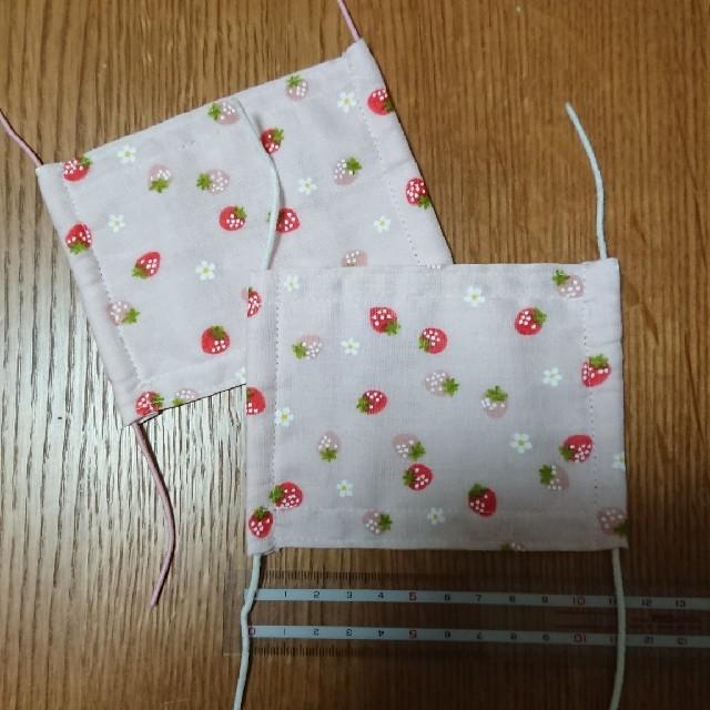 マスクレジスタ - 子供用マスク   2枚セット   ハンドメイドの通販 by たんぽぽ's shop