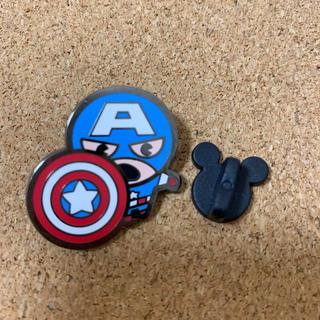 マーベル(MARVEL)のキャプテンアメリカ マーベル ピンバッジ ディズニー 海外 ピン marvel(バッジ/ピンバッジ)
