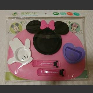 ディズニー(Disney)のミニーマウス アイコン ランチプレート 6点セット(プレート/茶碗)