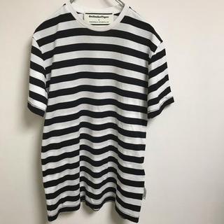 オニツカタイガー(Onitsuka Tiger)のTシャツ onitsuka andrea pompilio ボーダー(Tシャツ/カットソー(半袖/袖なし))