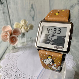 エプソン(EPSON)の【動作OK】Smart Canvas 腕時計 スヌーピー ピーナッツカーニバル(腕時計)