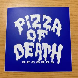 ハイスタンダード(HIGH!STANDARD)のPIZZA OF DEATH RECORDS ステッカー(ミュージシャン)