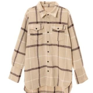 フィフス(fifth)のfifth チェックオーバーサイズシャツジャケット(その他)