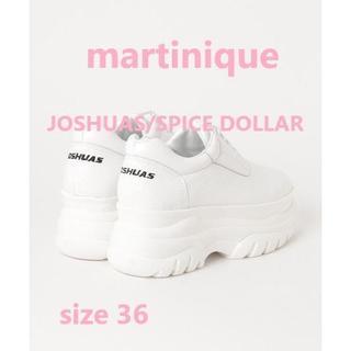 マルティニークルコント(martinique Le Conte)のmartinique JOSHUAS/SPICE DOLLAR スニーカー 36(スニーカー)
