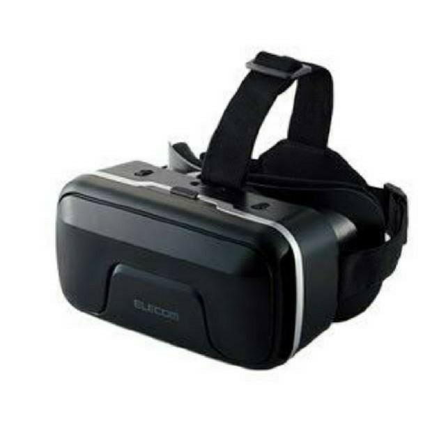 ELECOM(エレコム)の【新品未使用】未開封 ELECOM VRゴーグル ピント調整可能 メガネ対応  スマホ/家電/カメラのスマートフォン/携帯電話(その他)の商品写真