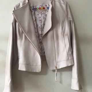 プロポーションボディドレッシング(PROPORTION BODY DRESSING)のスエードジャケット(ライダースジャケット)
