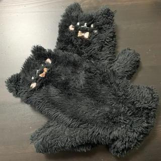 チュチュアンナ(tutuanna)の黒猫 手袋 チュチュアンナ(手袋)