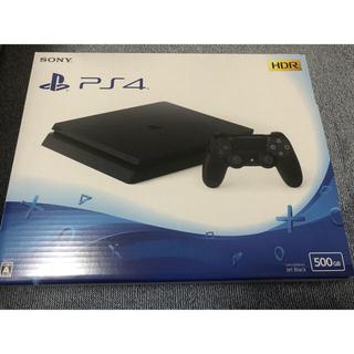 プレイステーション4(PlayStation4)のPlayStation4 本体 新品未開封 CUH-2200AB01 ブラック(家庭用ゲーム機本体)