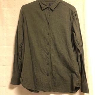 ユニクロ(UNIQLO)のUNIQLO カラーシャツ(シャツ/ブラウス(長袖/七分))