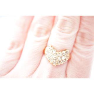 トクトクジュエリー 1カラット ダイヤモンド 18金 リング(リング(指輪))