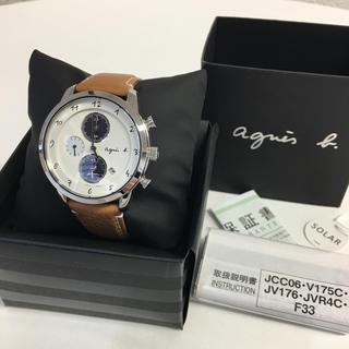 アニエスベー(agnes b.)の☆美品☆アニエスb./電波ソーラー腕時計(腕時計(デジタル))