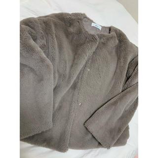 アーバンリサーチ(URBAN RESEARCH)のselect moca ファーコート(毛皮/ファーコート)