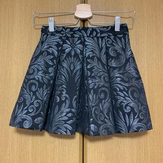 リナシメント(RINASCIMENTO)のインペリアル imperial ジャガードミニスカート 未使用(ミニスカート)
