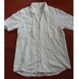 キャピタル(KAPITAL)のキャピタル ホワイトパッチワークシャツ(シャツ)