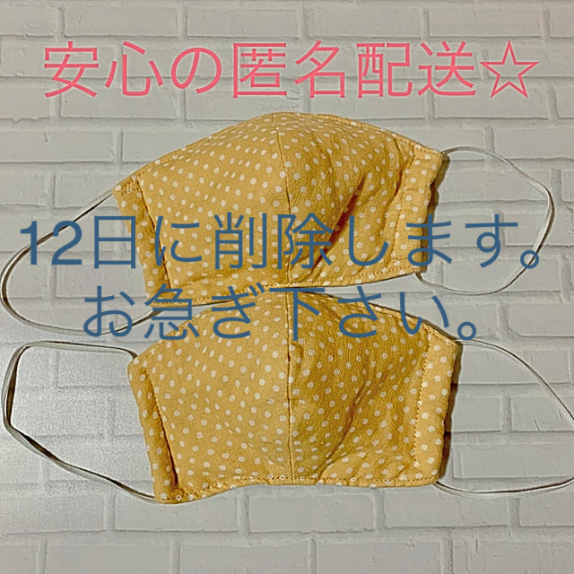バンダイ マスク / 布マスク 立体型 大人用 2個セットの通販