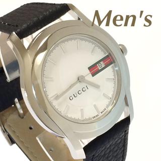 グッチ(Gucci)の1.超美品 グッチ GUCCI 時計 5500XL シェリーライン(腕時計(アナログ))