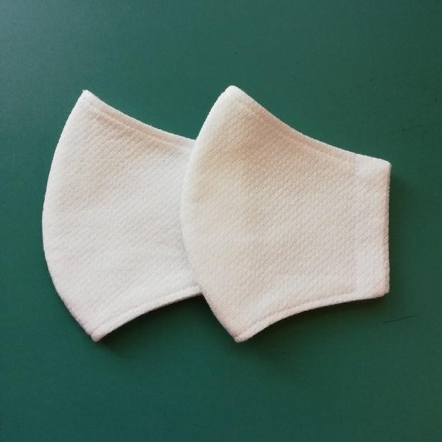 マスク 立体型 プリーツ型 咳 くしゃみ 、 リバーシブル(Mサイズ)2枚セットハンドメイド立体マスクの通販