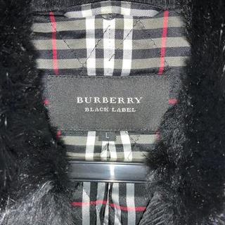 バーバリーブラックレーベル(BURBERRY BLACK LABEL)のコーディローブルゾン(ピーコート)