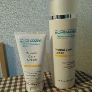 シュラメック(Schrammek)のシュラメック ケアローション&ケアクリーム(化粧水/ローション)
