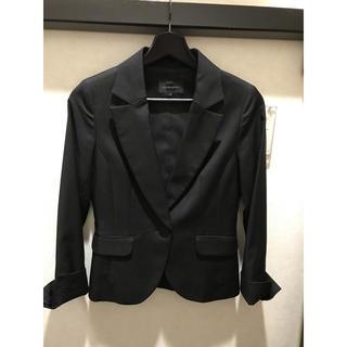 クイーンズコート(QUEENS COURT)のクイーンズコート スーツ 黒 サイズ1(スーツ)
