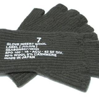 ユリウス(JULIUS)の新品!◆JULIUS ニット グローブ 手袋◆ユリウス(手袋)
