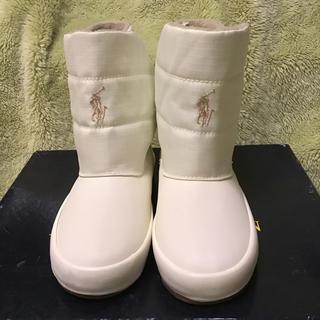ポロラルフローレン(POLO RALPH LAUREN)の新品未使用 ポロ・ラルフローレン キッズ ブーツ 17cm(ブーツ)