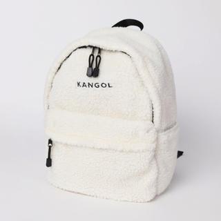 カンゴール(KANGOL)のKANGOLボアリュック(リュック/バックパック)