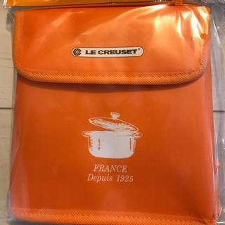 ルクルーゼ(LE CREUSET)のル・クルーゼ オリジナル保冷トート(オレンジ)(弁当用品)