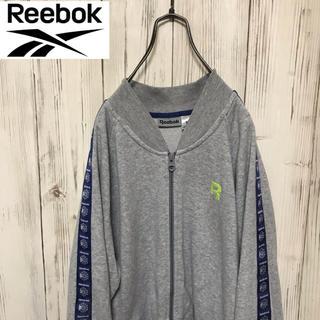 Reebok - 【希少】90s リーボック Reebok 袖風車ロゴたっぷりブルゾン