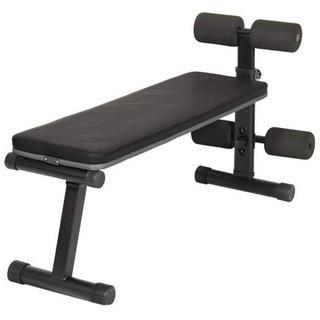 マルチシットアップベンチ 腹筋 背筋 ダンベルプレス用折りたたみフラットベンチ