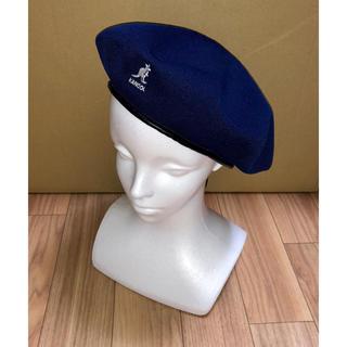 カンゴール(KANGOL)の新品 KANGOL トロピックビッグモンティ ベレー帽 ハンチング XL 紺(ハンチング/ベレー帽)