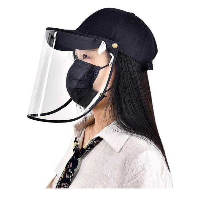 マスク 苦しく ない - 防護帽 フェイスカバー 保護帽子 保護キャッペ 飛沫防止帽子 ハットの通販 by snowlin's shop