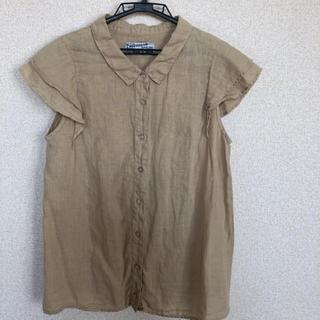 ネストローブ(nest Robe)のThe TROFICOLOR リネンブラウス(シャツ/ブラウス(半袖/袖なし))