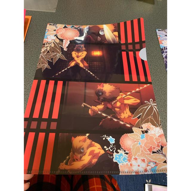 BANDAI(バンダイ)の鬼滅の刃伊之助クリアファイル エンタメ/ホビーのアニメグッズ(クリアファイル)の商品写真