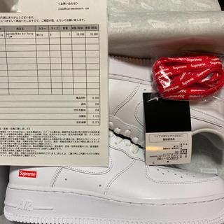シュプリーム(Supreme)の27.0 Supreme®/Nike® Air Force 1 Low(スニーカー)