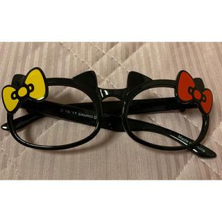 ハローキティ - ハローキティ レンズなしメガネ