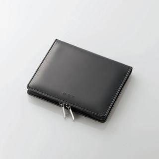 エレコム(ELECOM)の電子辞書 ケース レザー調生地 ブラック(電子ブックリーダー)