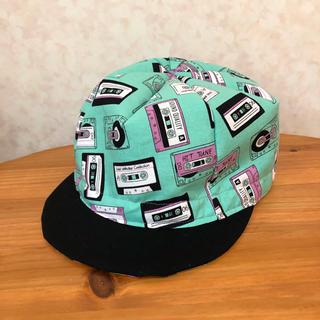 alice様専用ハンドメイドサイクルキャップ(帽子)
