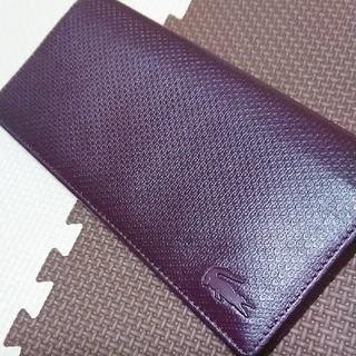 ラコステ(LACOSTE)のLACOSTE 長財布新品(折り財布)