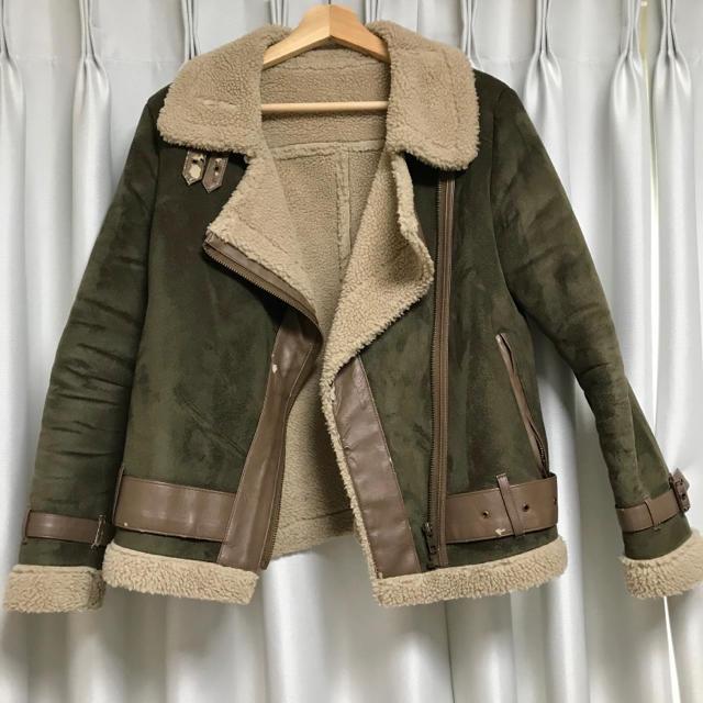 Ungrid(アングリッド)のボアブルゾン レディースのジャケット/アウター(ブルゾン)の商品写真