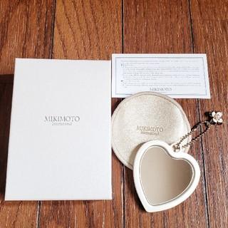 ミキモト(MIKIMOTO)の★ MIKIMOTO ミキモト ハート コンパクトミラー 新品 未使用 ★(ミラー)