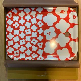 ミナペルホネン(mina perhonen)のmina perhonen ミナペルホネン 木製トレイ Hamako  中古品(テーブル用品)
