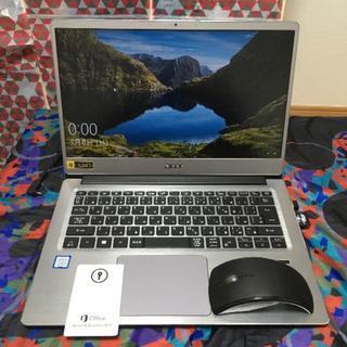 エイサー(Acer)の『今だけ❗️値下げ』ノートパソコン office搭載 SDカード(ノートPC)