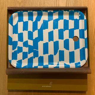 ミナペルホネン(mina perhonen)のmina perhonen ミナペルホネン 木製トレイ sticky 中古品(テーブル用品)