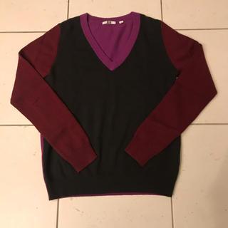 ユニクロ(UNIQLO)のユニクロ UNIQLO カシミヤ 100% ニット セーター 限定 S(ニット/セーター)